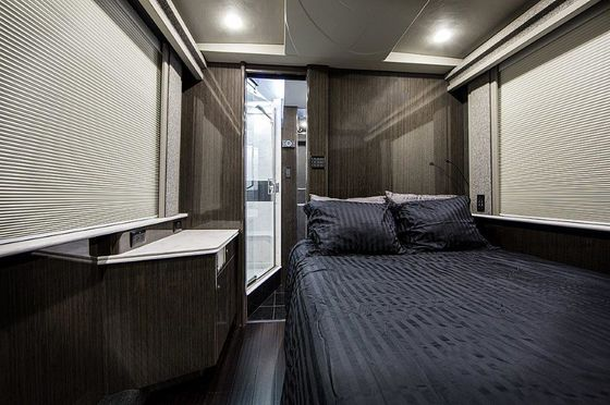Want a Glam Rock Road Trip? Rent a Concert Tour Bus as Your RV