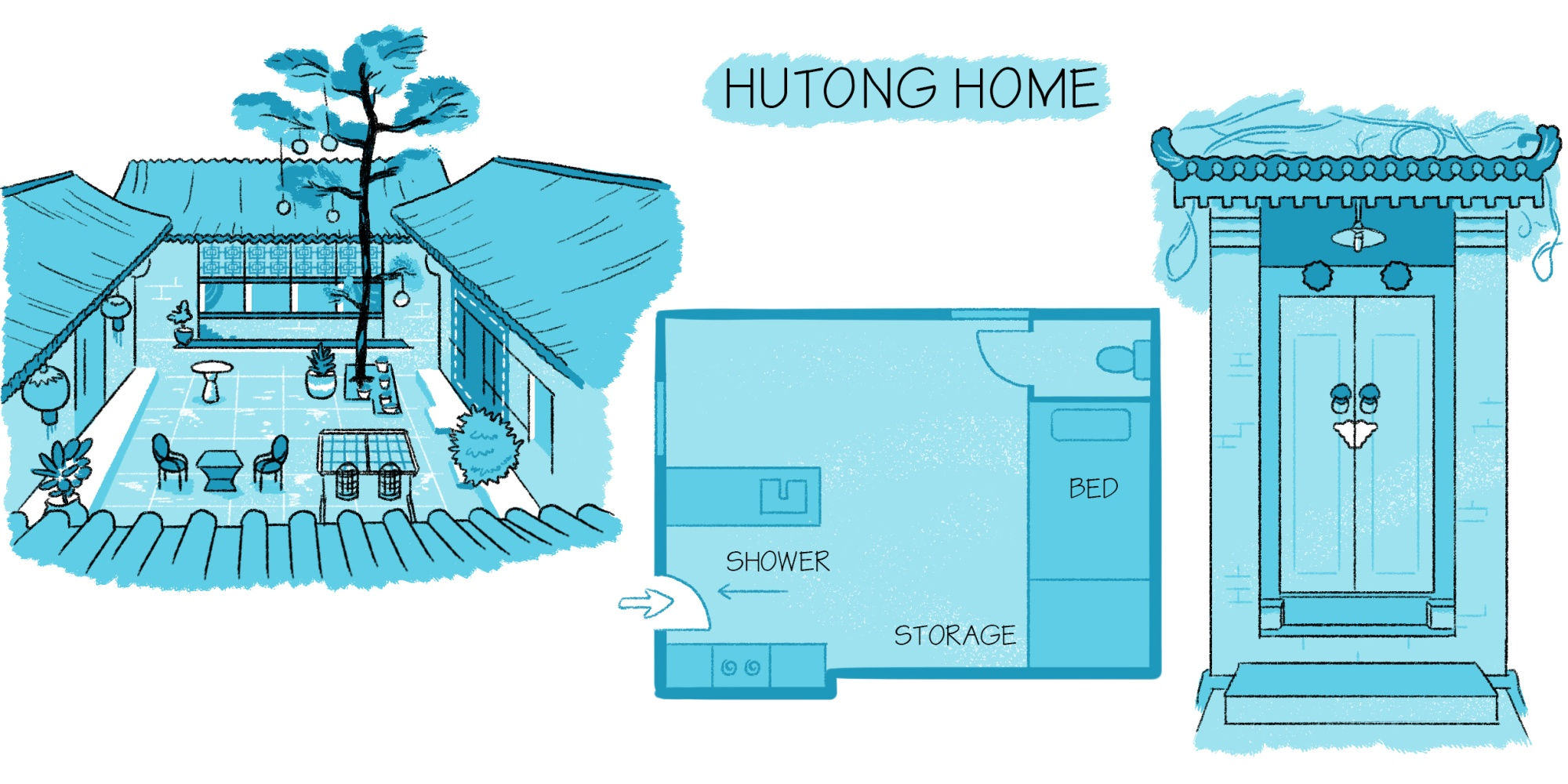 relates to Beijing's Hutong Homes Offer Respite From Bustling City Streets
