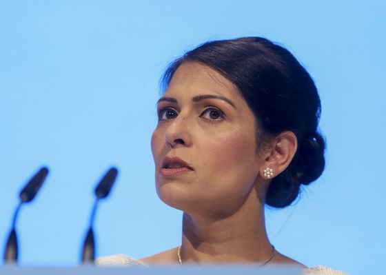 Priti Patel Says U.K. Faces Heightened Terrorist Threat After Lockdown