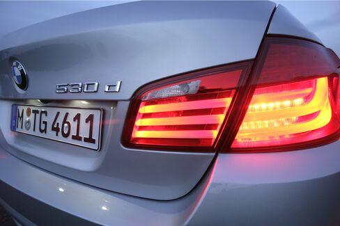 BMW Q3 Profit Gains on 5-Series, X3 Demand