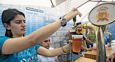In the West Bank, Taybeh's Palestinian Oktoberfest