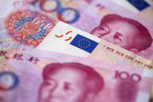 Yuan and Euro Currencies