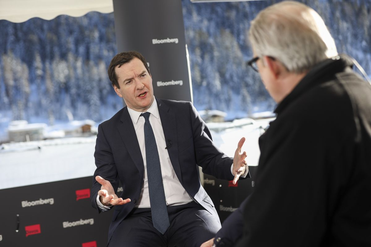 Osborne's IMF Candidacy Not Priority for Johnson at G-7 Summit