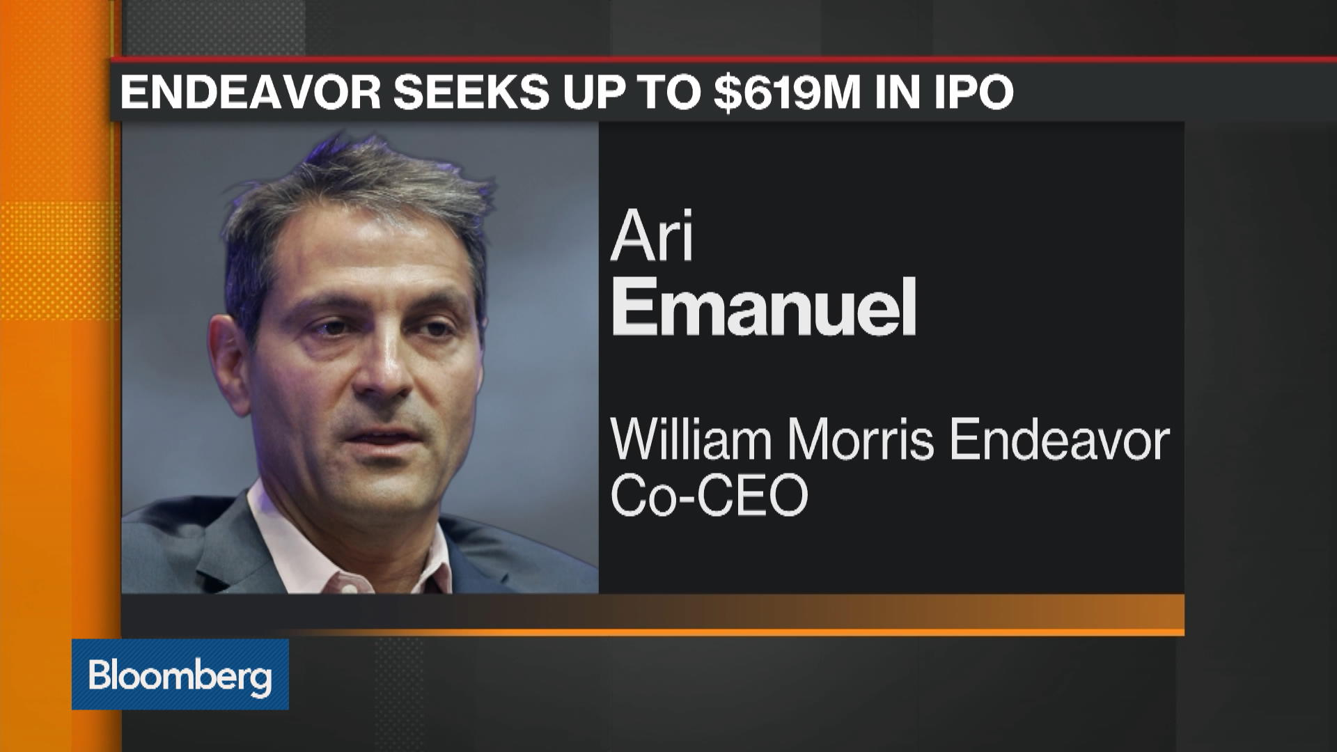 Hollywood Powerhouse Endeavor Seeks $619 Million in IPO