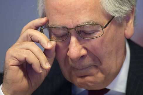 BOE Governor Mervyn King