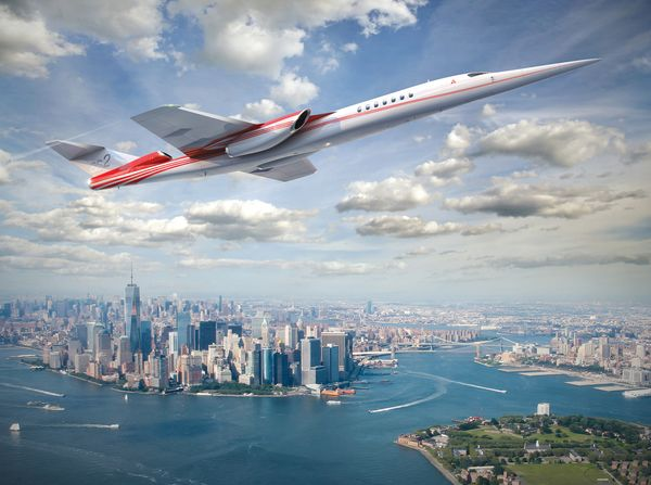 relates to The New Era of Supersonic Travel May End Before It Even Begins