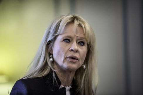 Swedish Bankers' Association chairman Annika Falkengren