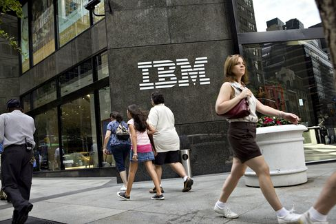 IBM Sales Beat Estimates as Companies Spend More on Software