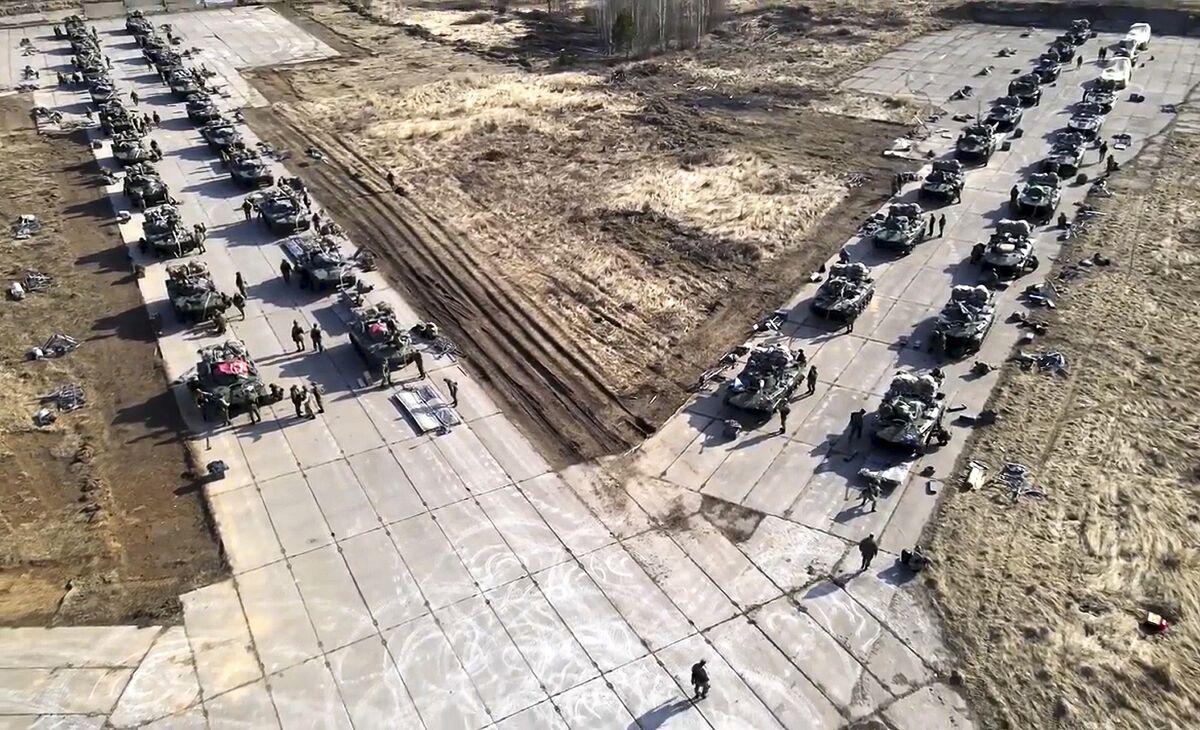 Russia Says Troop Pullback From Ukraine Border Has Begun