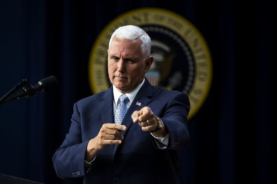 Pence Says Trump, Putin Expected to Discuss Election Meddling