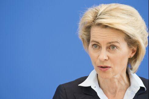 Defense Minister Ursula von der Leyen