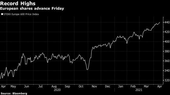 Europe Stocks Post Longest Winning Streak Since 2018 on Earnings