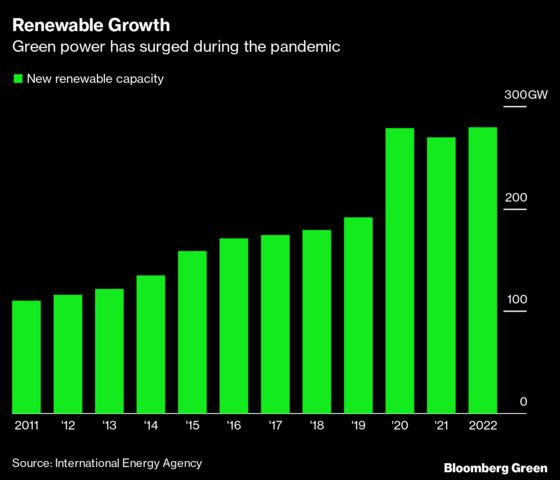 Renewable Power Growth to Plateau After Record Gain in 2020