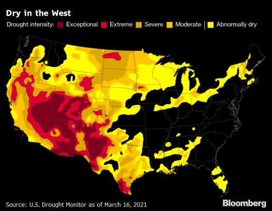 Drought Is the U.S. West's Next Big Climate Disaster