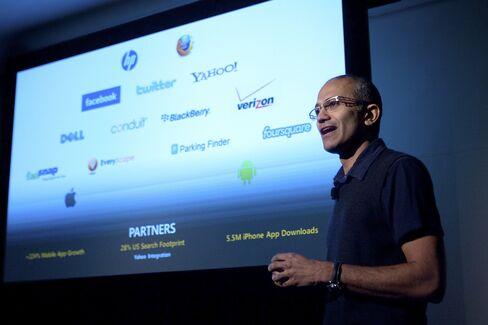 Microsoft Enterprise and Cloud Chief Satya Nadella