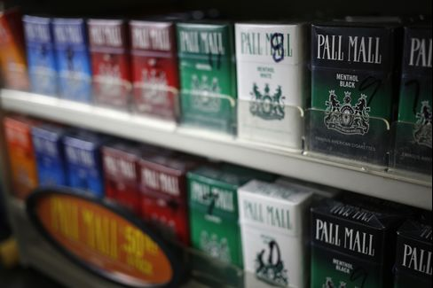 Reynolds American Inc. Pall Mall Cigarettes