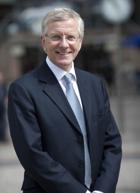 Peter Clarke, chief executive officer of Man Group Plc.