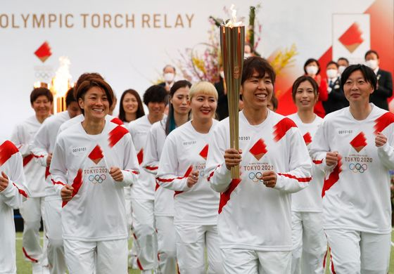 Olympics Torch Relay Kicks Off as Japan Presses Ahead With Games