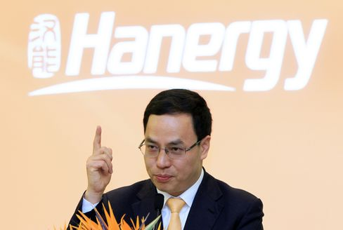 Hanergy Chairman Li Hejun. Source: ChinaFotoPress via Getty Images