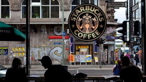 A Starbucks Corp. coffee shop in Berlin.