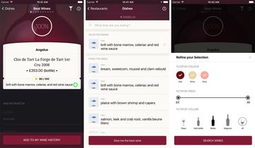 Screenshots from Omnipair app.
