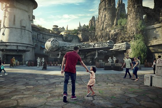 Disneyland's $763 Rooms Are All That's Left for Star Wars Debut