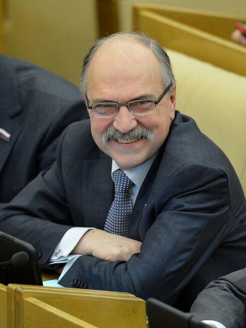 Russian Lawmaker Vladimir Pekhtin
