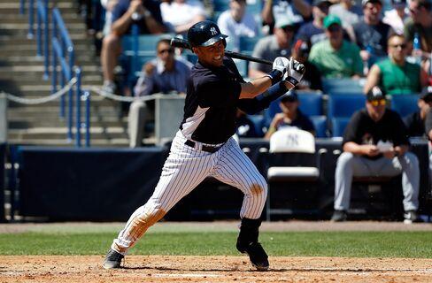 NY Yankees Shortstop Derek Jeter