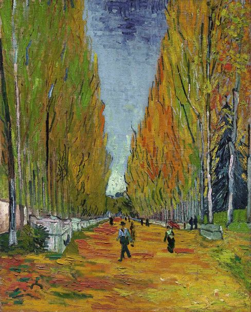 """L'Allée des Alyscamps,"" by Vincent van Gogh, painted on Nov. 1, 1888, sold for $66.3 million."