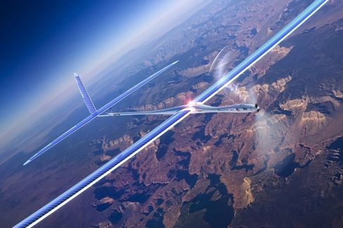 Facebook's Flying Internet Service, Brought to You by Drones