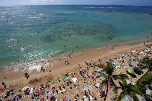 Hawaii Tourists