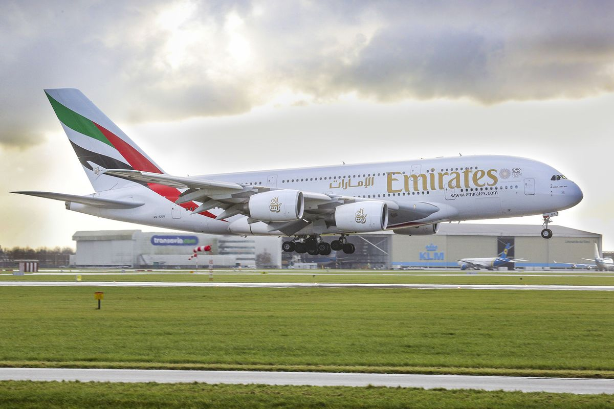 Emirates Sees 2022 Return of Jumbo A380s as Travel Recovers