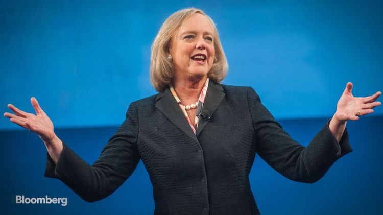 relates to Meg Whitman on 'Bloomberg Studio 1.0'