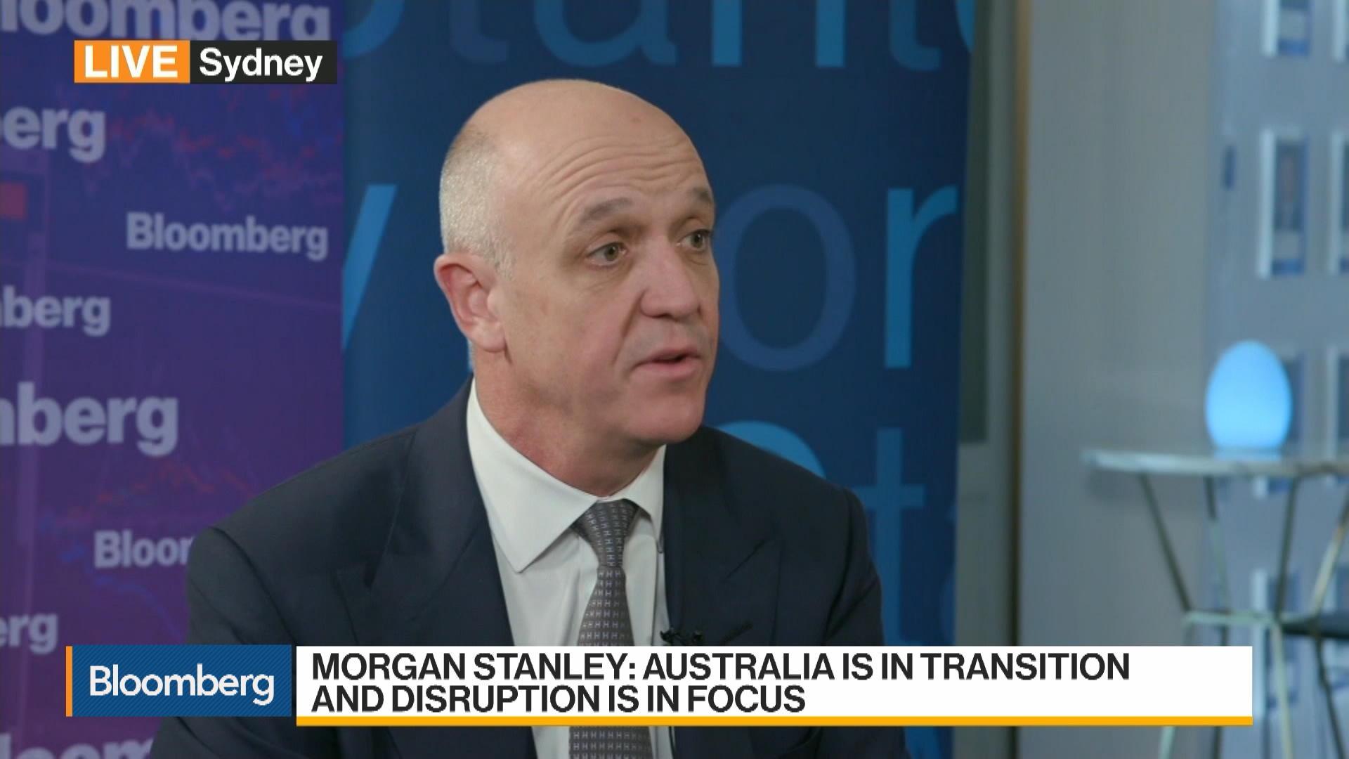 Morgan Stanley Australia CEO: Economy in 'Pretty Good Shape