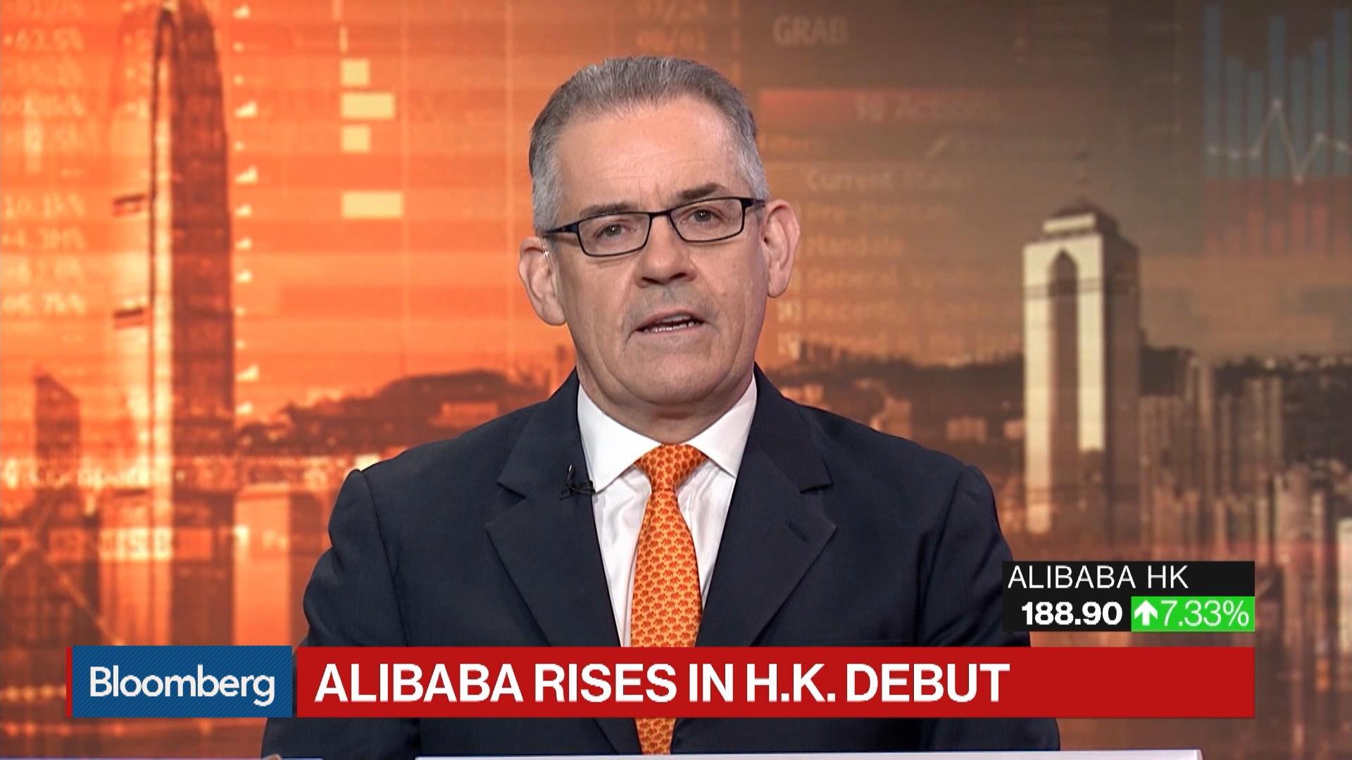 Alibaba Debut in Hong Kong Discussed by Andrew Sullivan, Pearl Bridge Partners Director