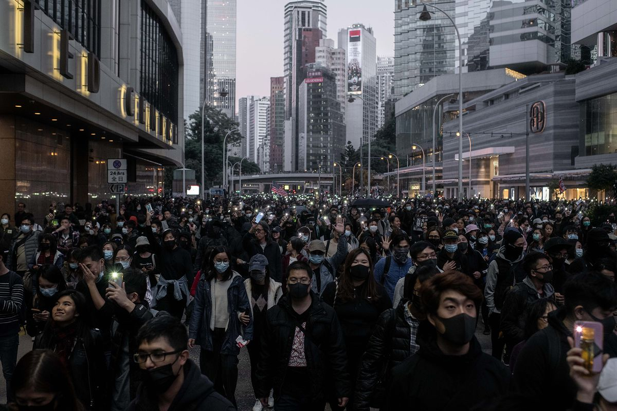 Biggest Hong Kong Protest in Months Signals More Unrest in 2020