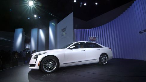 The 2016 Cadillac CT6 debuted Tuesday, March 31, 2015 during the New York International Auto Show
