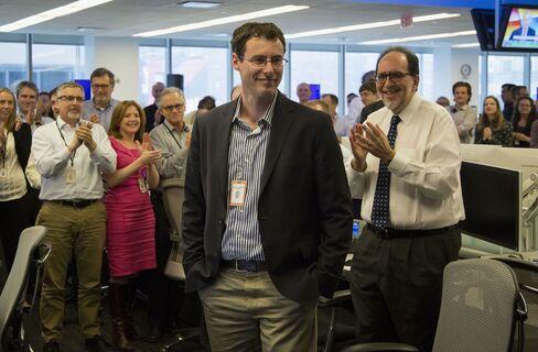 Bloomberg News Reporter Zachary Mider