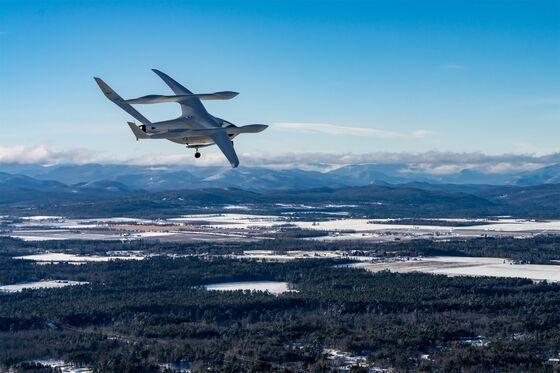Fidelity, Amazon Back E-Plane Startup in $368 Million Funding