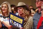 California Gubernatorial Candidate Larry Elder Hosts Election Night Event