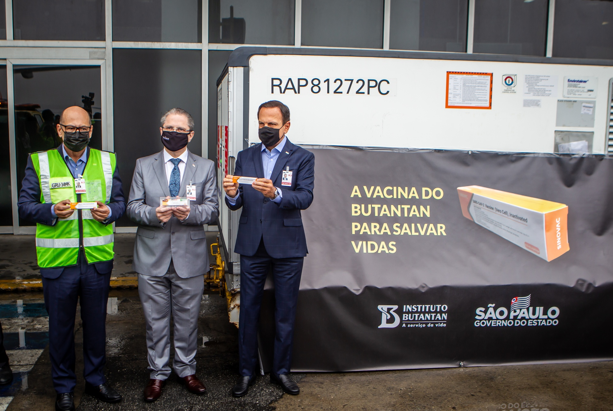 Synovac Biotech's Coronavirus Vaccine Arrives in Brazil