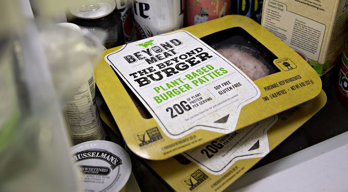 Beyond Meat Surges 87% in Two Days