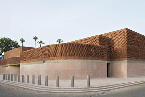 マラケシュの「イブ・サンローラン美術館」