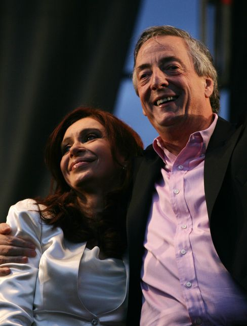Ex-Argentina President Kirchner Dies of Heart Attack