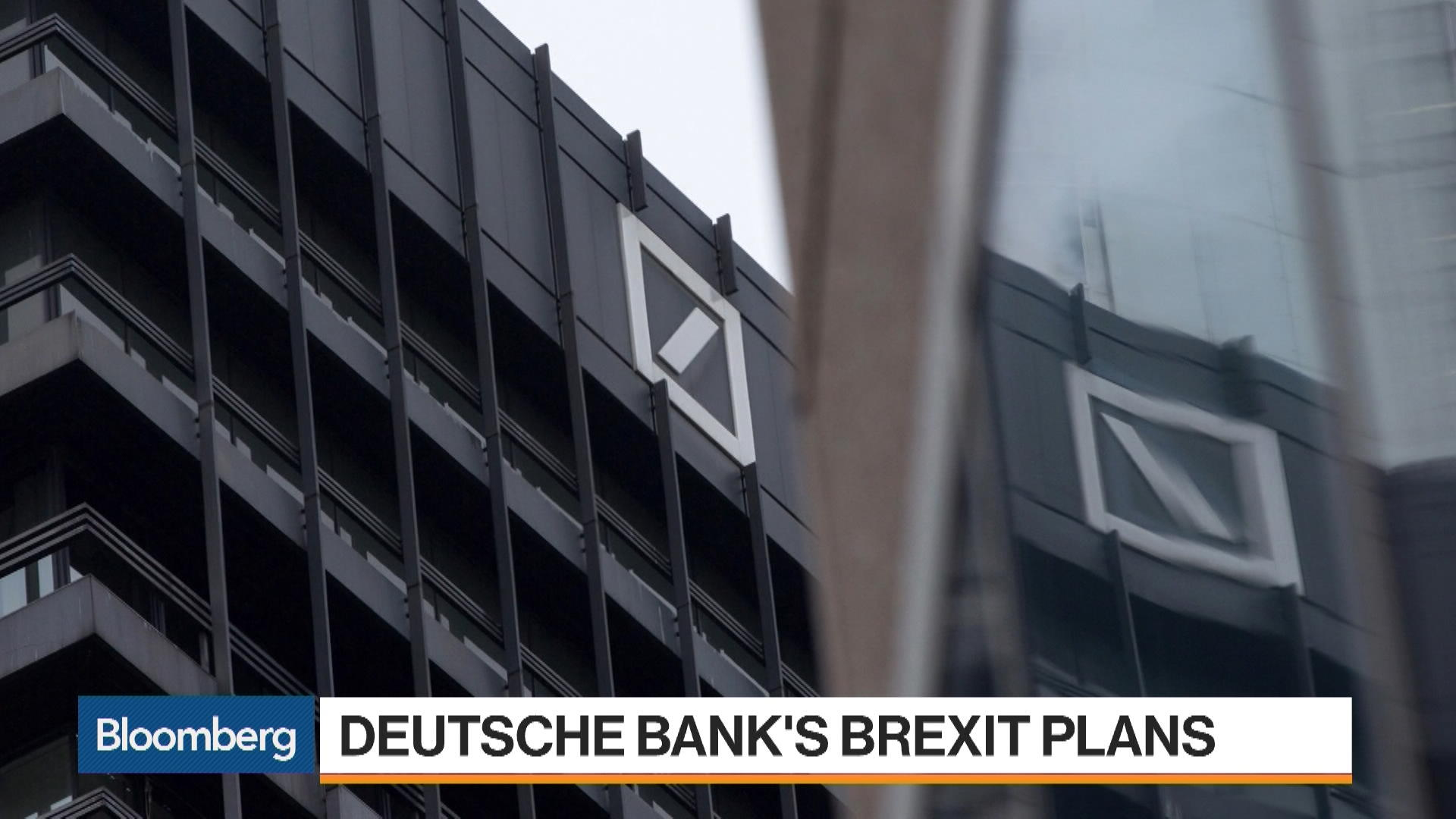 Deutsche Bank's Brexit Plan Puts Jobs at Risk – Bloomberg