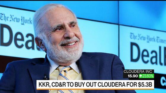 KKR, CD&R Strike Deal to Buy Out Cloudera for $5.3 Billion