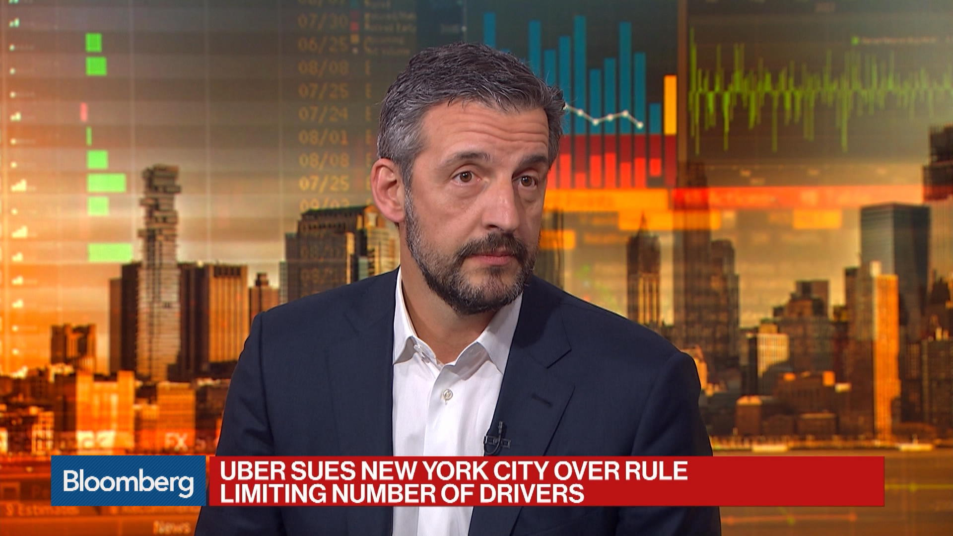 Index Ventures' Volpi on Uber Suing NYC and State of Financing for Startups