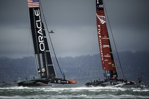 Oracle Team USA Avoids Elimination in America's Cup With Victory