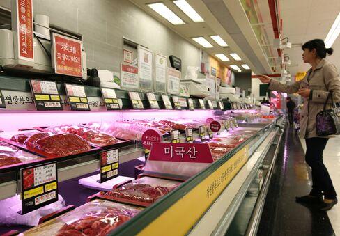 S. Korea to Halt Customs Clearance of U.S. Beef on Mad Cow