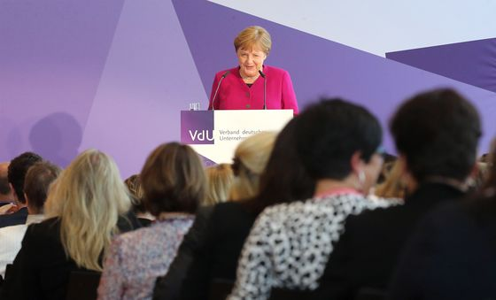 It's Easier for a Woman to Become Chancellor Than CEO in Germany